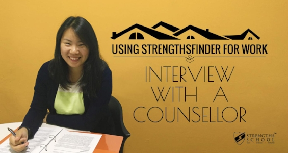 StrengthsFinder for Work - interveiw with a counsellor in Singapore (by Victor Seet)