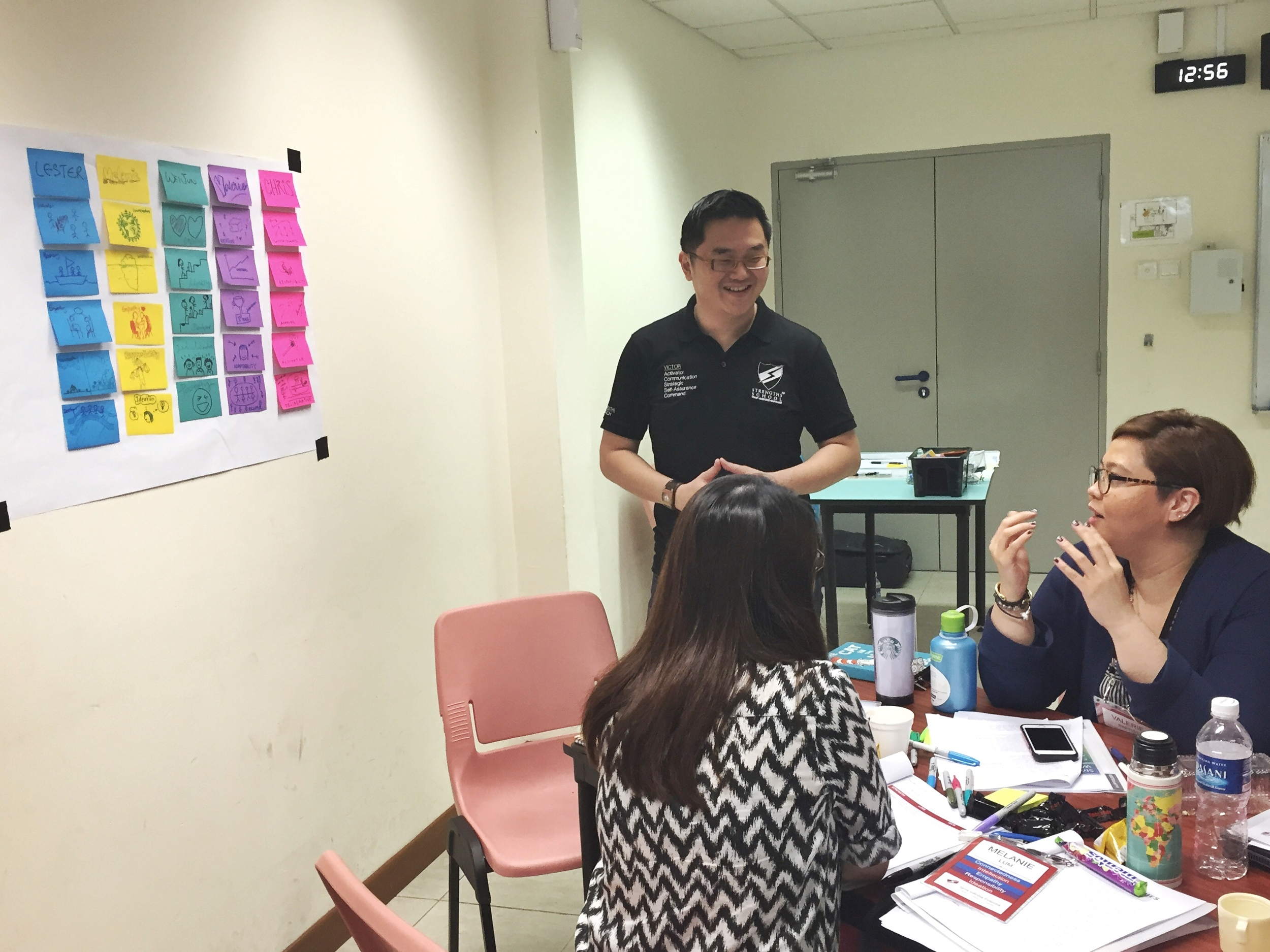 StrengthsFinder Singapore teambuilding workshop Victor Seet Training Small Group sharing