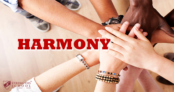 StrengthsFinder Harmony Leadership Application Harmony