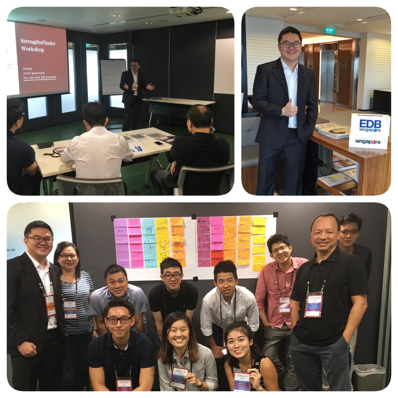 Singapore StrengthsFinder Team Building Workshop EDB