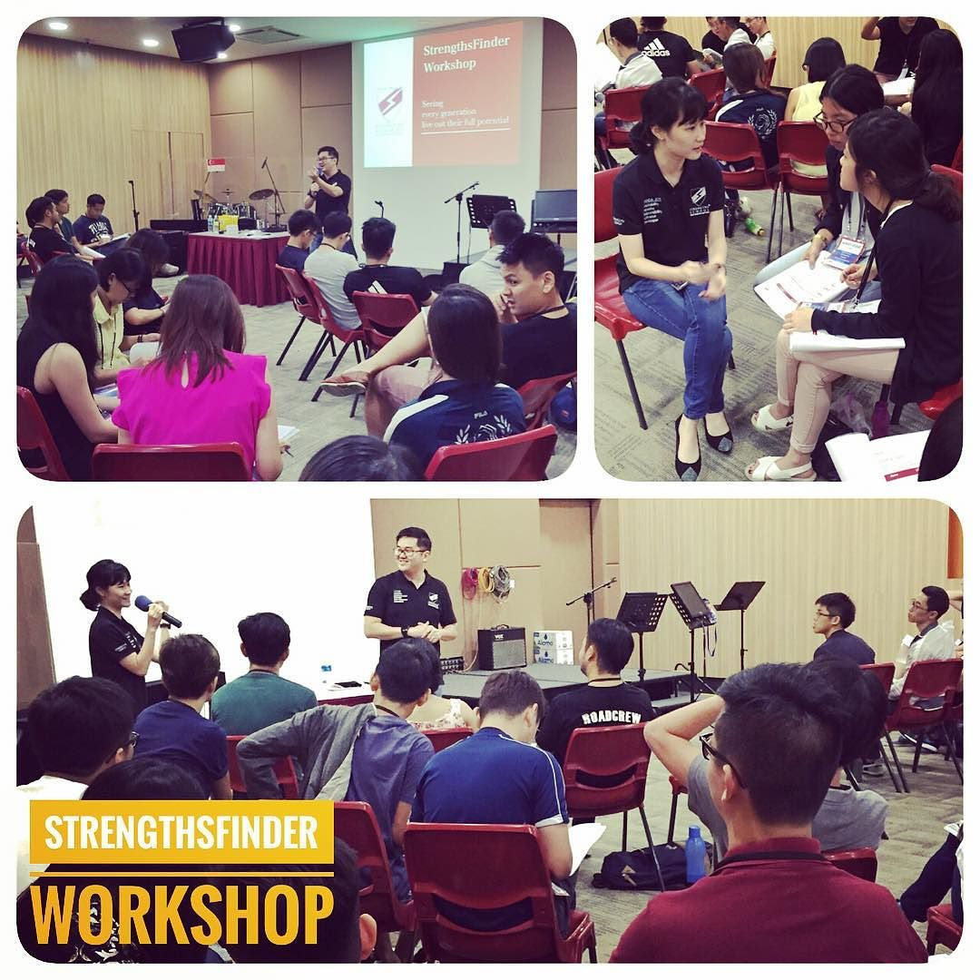 StrengthsFinder Singapore Leadership Workshop Living Sanctuary Brethren Church Victor Seet