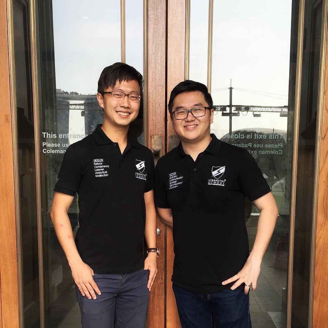 Singapore StrengthsFinder Gallup Certified Coach Gideon Ren Victor Seet Leadership
