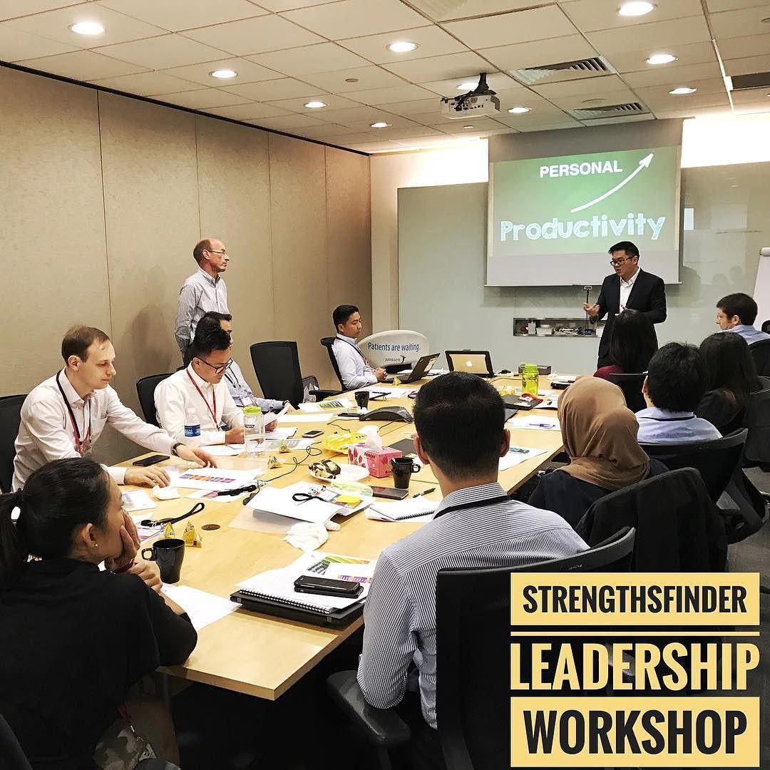 Singapore StrengthsFinder Workshop Leadership Fortune 500 Company Victor Seet