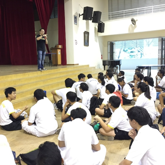 Singapore StrengthsFinder School Assembly Talk Victor Seet