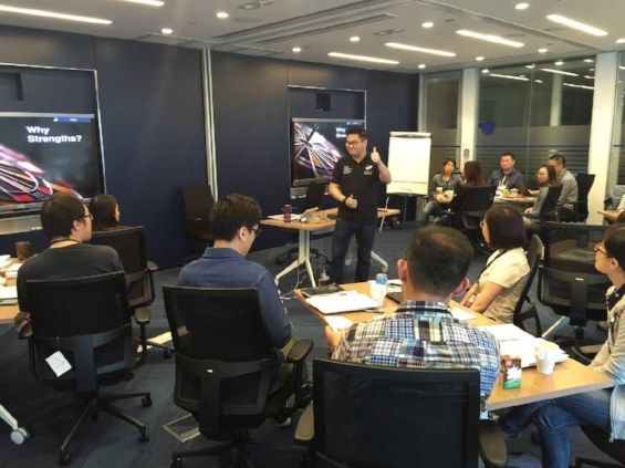 Singapore StrengthsFinder Leadership Workshop VF Hong Kong Victor Seet