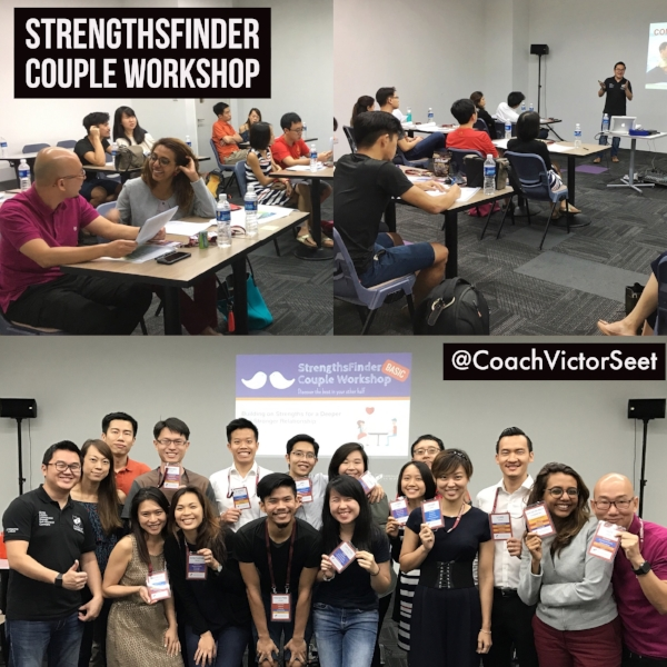 Singapore Gallup Strengthsfinder Couple Workshop Victor Seet April 2017