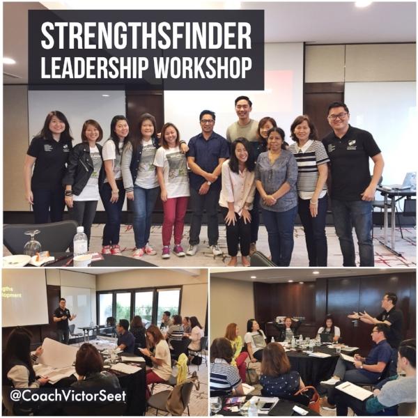 Gallup StrengthsFinder Leadership Workshop Singapore Tourism Board Cultural Precinct Coach Victor Seet