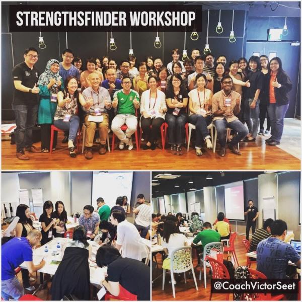 Gallup StrengthsFinder Team Building Workshop AIC Singapore Coach Victor Seet