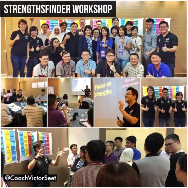 Singapore StrengthsFinder Gallup Team Building Workshop EDB Victor Seet