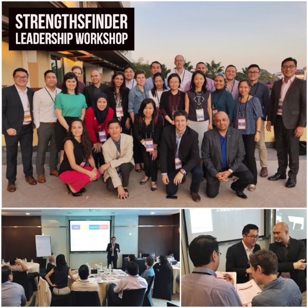 Singapore StrengthsFinder Leadership Workshop Chiangmai Thailand Janssen Gallup Coach Victor Seet