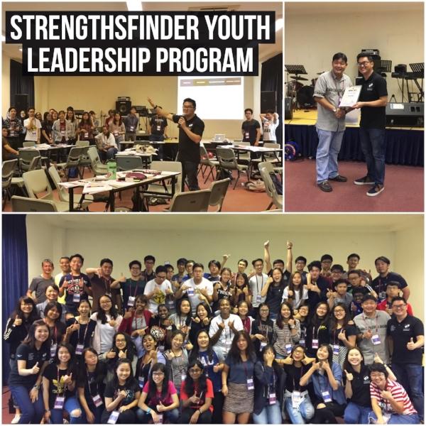 Strengthsfinder singapore leadership workshop Anglican Youth Diocese Serve Program