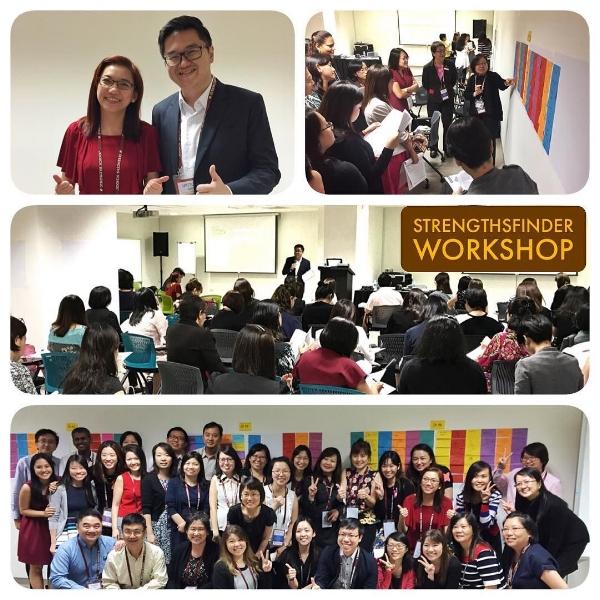 StrengthsFinder Singapore TEAM BUILDING Workshop Singhealth Human Resource Victor Seet