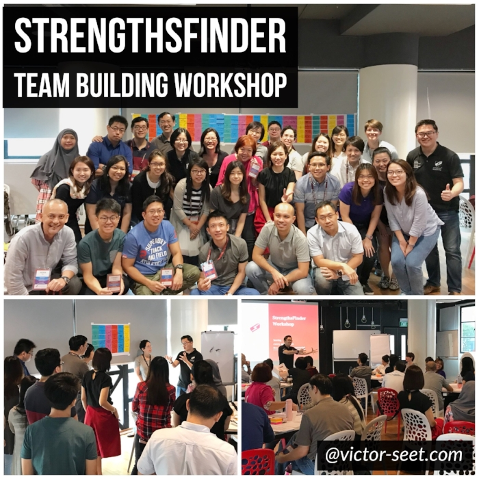 StrengthsFinder Singapore Team Building Workshop AIC Coach Victor Seet