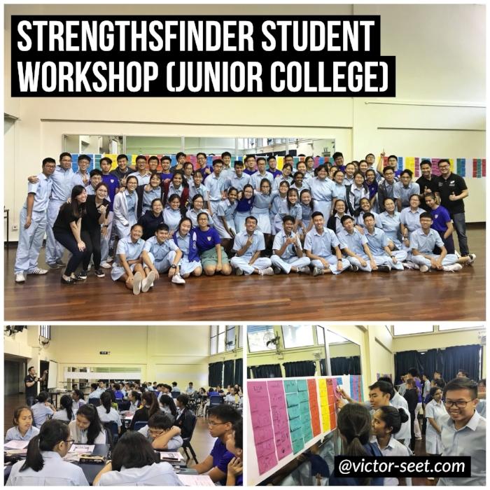 Gallup StrengthsFinder CliftonStrengths Student Workshop CJC Victor Seet