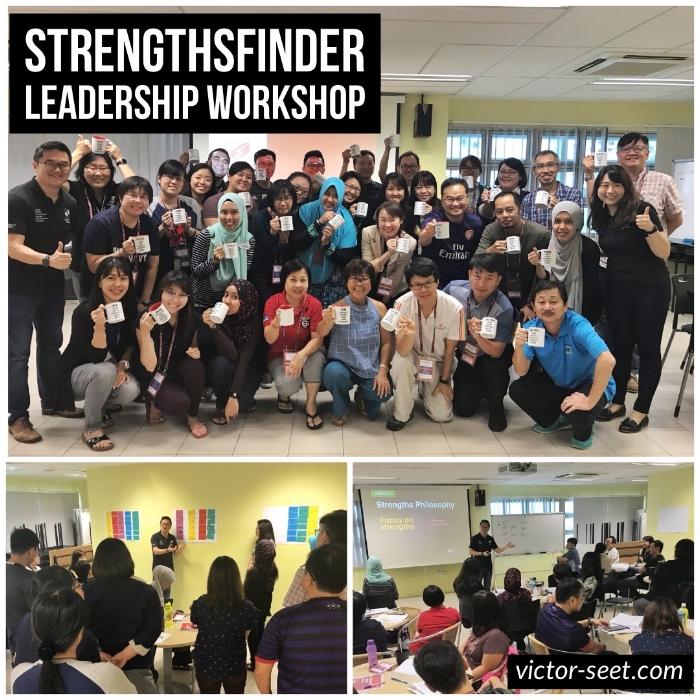 StrengthsFinder Singapore Leadership Workshop Gallup CliftonStrengths Victor Seet NCPS