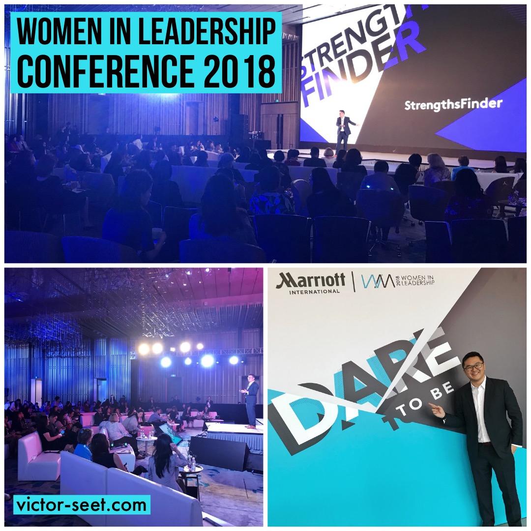 StrengthsFinder Women in Leadership Conference Shenzhen China Marriott International Victor Seet