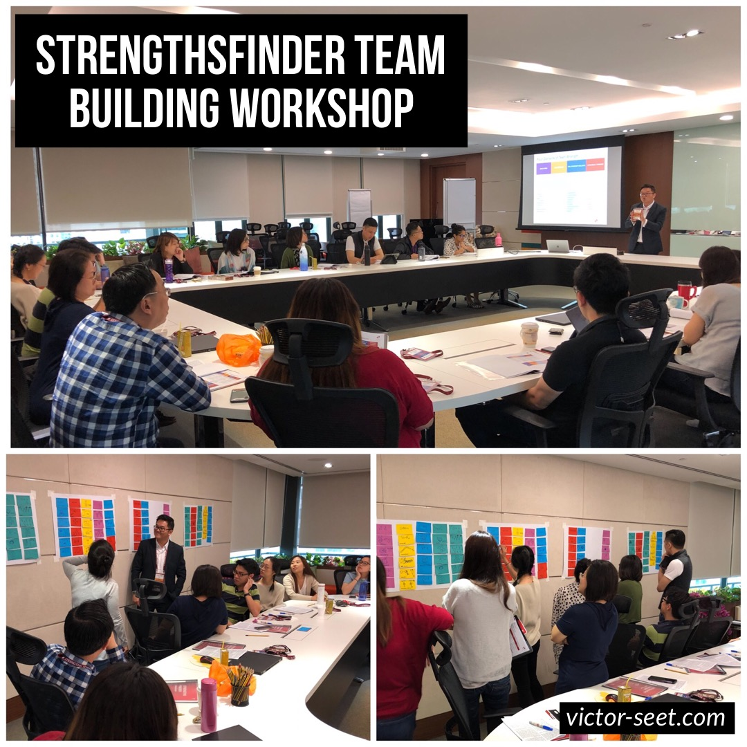 Gallup StrengthsFinder Workshop for Singapore Tourism Board Visitor Experience Coach Victor Seet