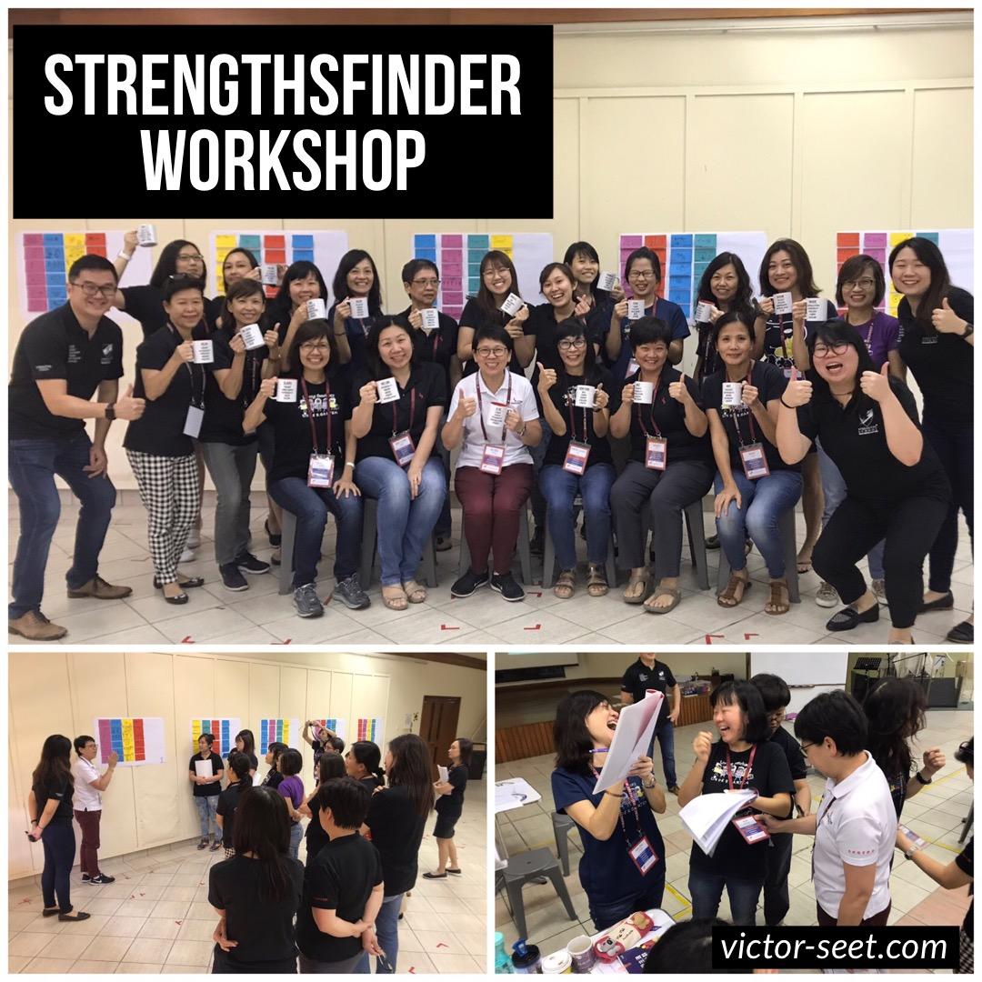 StrengthsFinder Singapore Workshop Living Sanctuary Kindergarten CliftonStrengths Coach Victor Seet