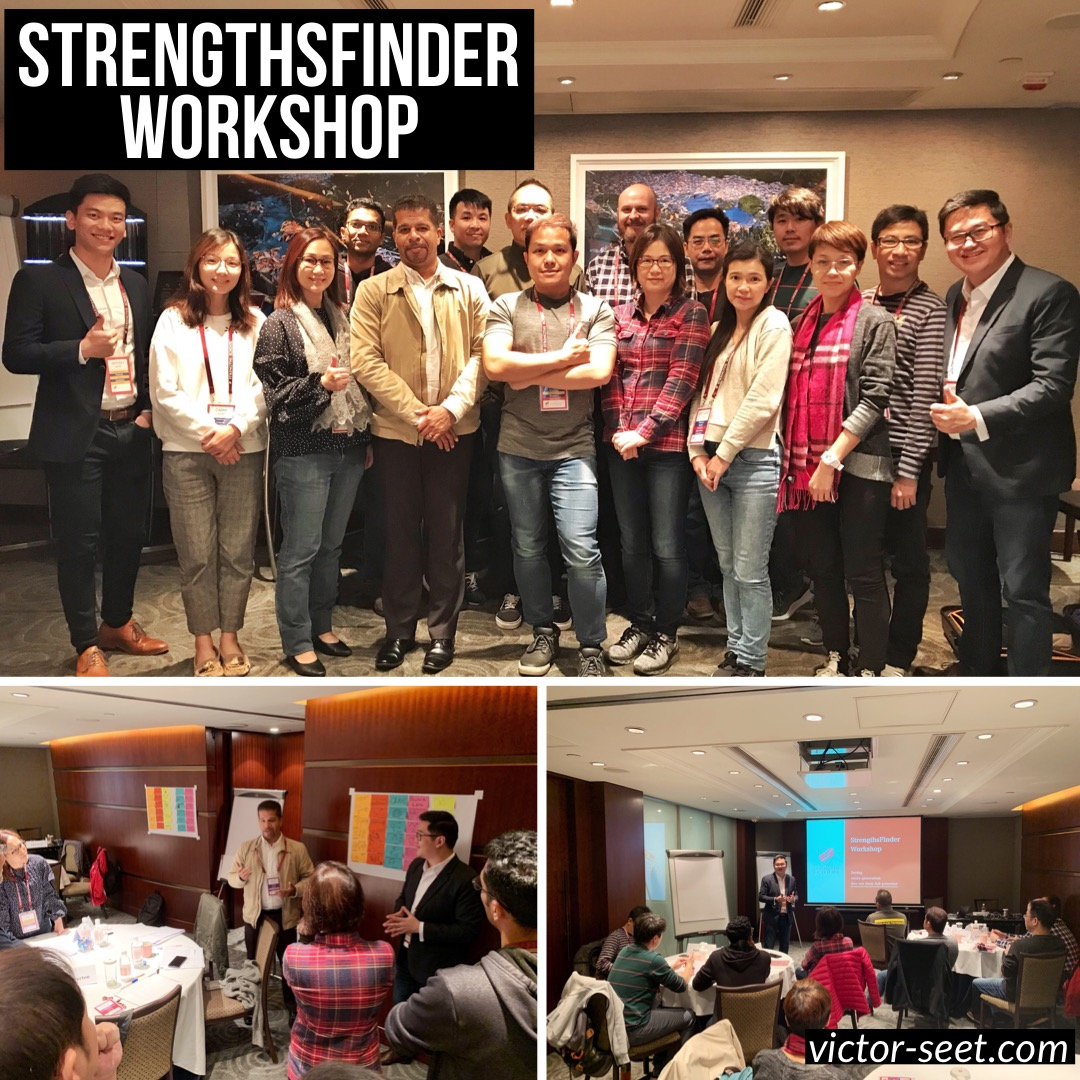 Gallup StrengthsFinder Hong Kong Workshop Program PVH Cliftonstrengths coach Victor Seet