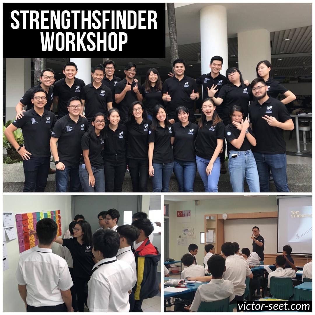 StrengthsFinder Singapore Cohort Workshop for ACS Barker by Coach Victor Seet