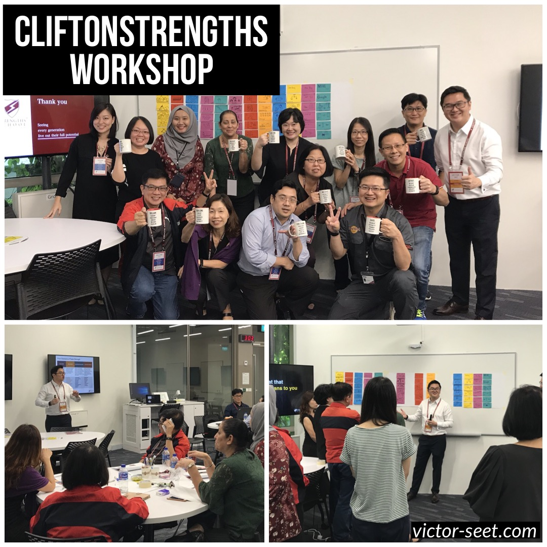 CliftonStrengths Singapore Workshop NTU Gallup StrengthsFinder Coach Victor Seet