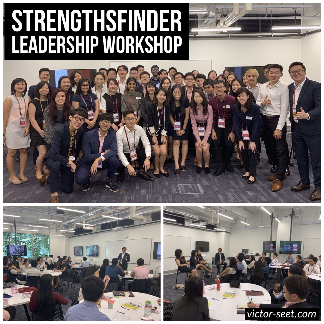 Gallup StrengthsFinder Singapore NTU PEAK Workshop by CliftonStrengths Coach Victor Seet 022019