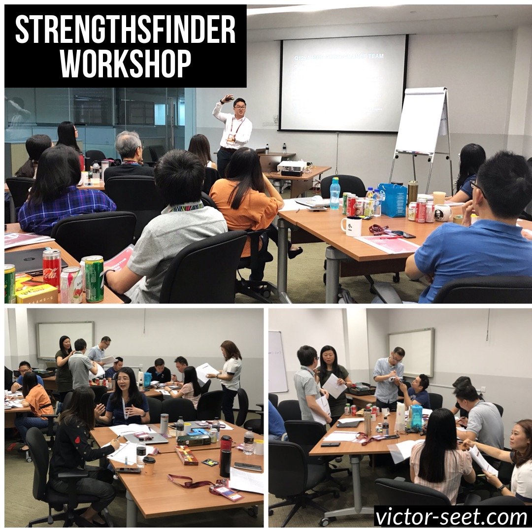 Gallup StrengthsFinder (CliftonStrengths) Workshop Program Malaysia Coach Victor Seet