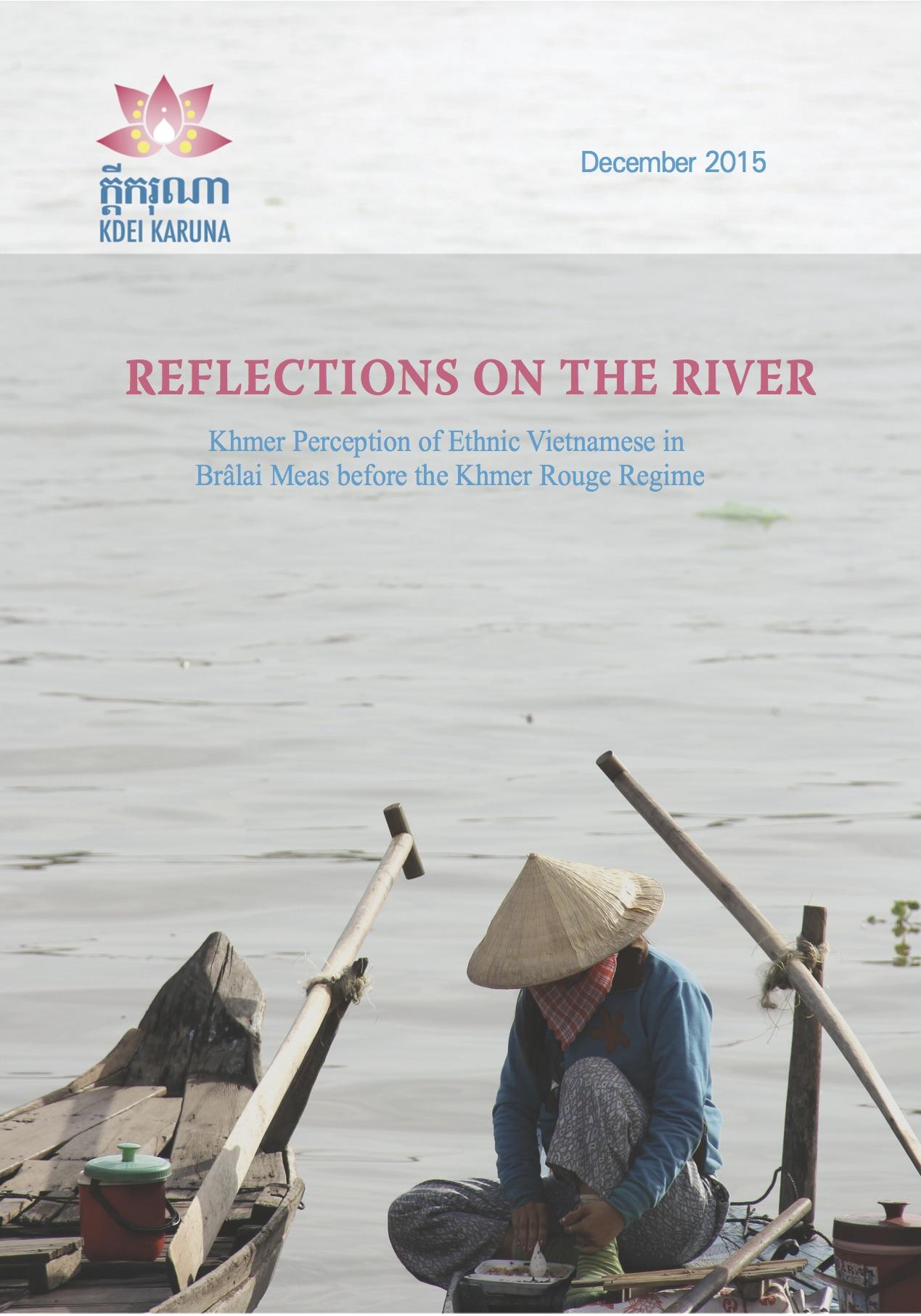 - Khmer perception of Ethnic Vietnamese before the Khmer Rouge