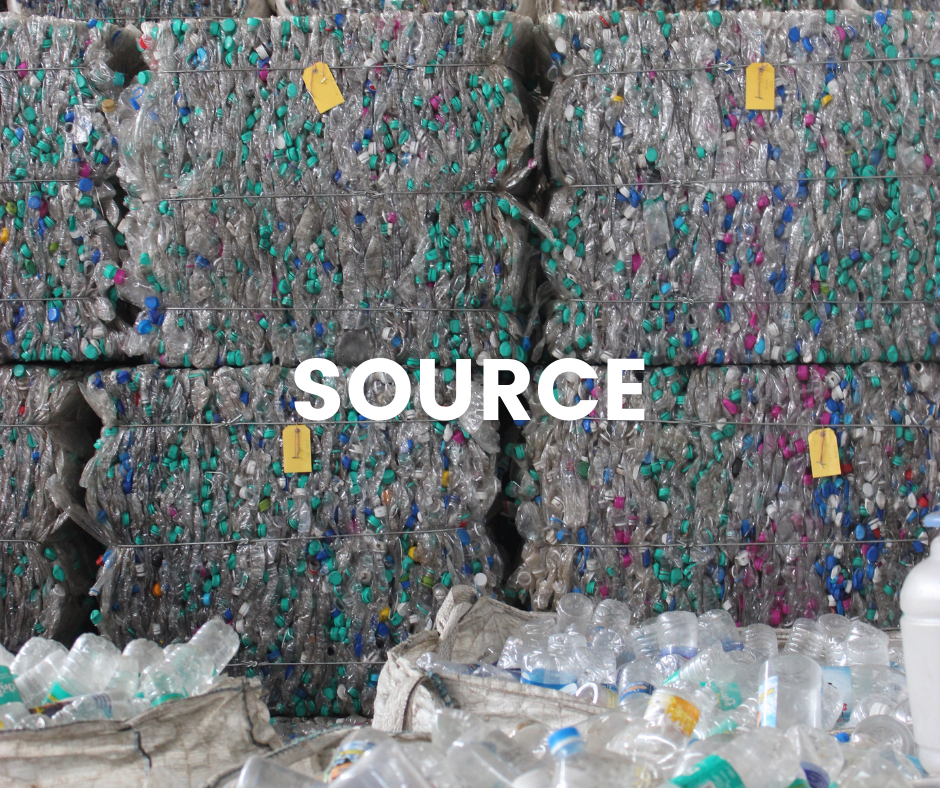 Source recycled plastic ethically
