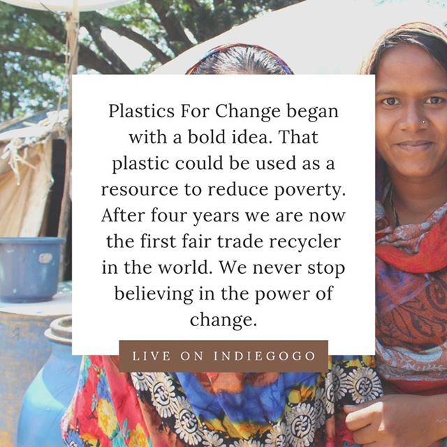 We need your help to expand to a coastal community in South India. Back our IndieGoGo campaign to help double our recycling efforts and help provide ethical jobs for waste-pickers. Link is in our bio.