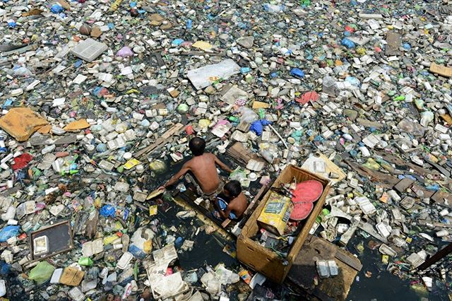 Scenes like this should not be ignored. That's why @plasticsforchange is expanding to a coastal community. We will employ a community of waste-pickers to collect plastic on land before it enters the ocean. Back our IndieGoGo campaign and invest in our future today. Link is in our bio.