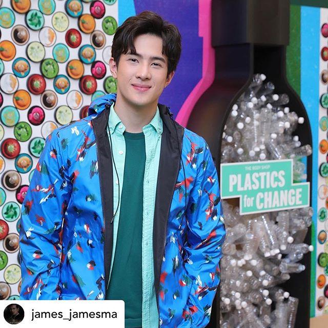 @james_jamesma inviting the world to use #plasticsforchange instead of leaving plastic to pollute the environment. @thebodyshop is currently using our plastic in their bottles and is offering customers to return used bottles to branches nationwide.