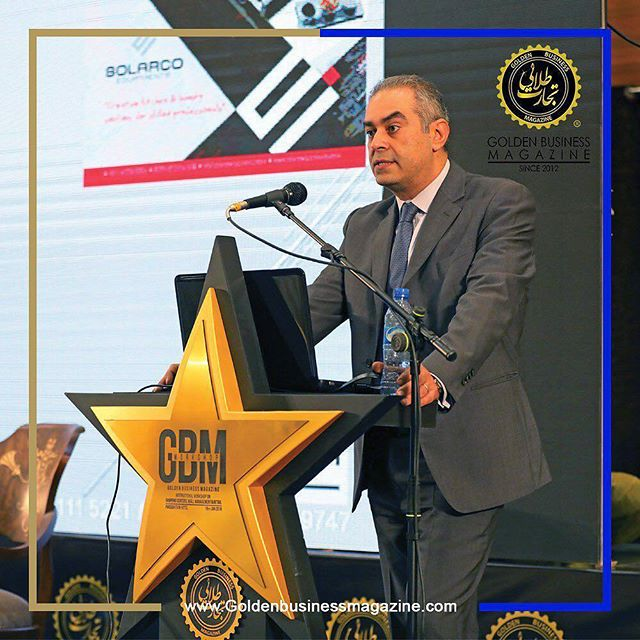 Our MD @philippebacha as keynote speaker at the @goldenbusinessmagazine event!
