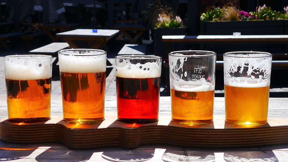 A good beer bar will usually have flights available, which is a great way to find a new favorite summertime drinkin' brew.
