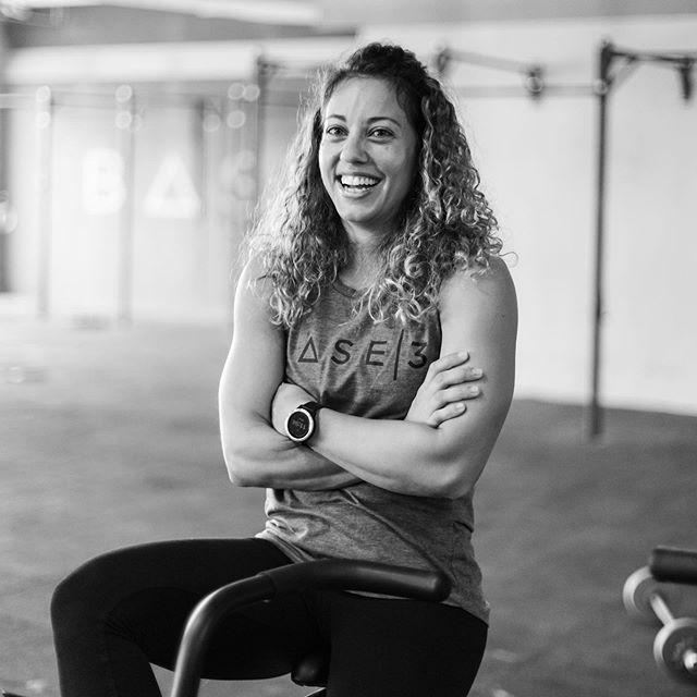 """HUMANS OF BASE 3 FED, GYMNASTICS COACH, 32  I started gymnastics because my older sister did it. I was 3, but that didn't stop me. On the first day, the Coach told Mum, """"don't worry, she'll last a month."""" I lasted 14 years; it became a huge part of my life.  At 17, the demands of competing became too much, and I decided to stop. But you don't just stop being an athlete: it left a void.  Eventually, I ended up in the first CrossFit box in Rome. On the first day, the receptionist told me, """"it's too hard for you."""" Well that didn't stop me either (and screw you by the way). I've lasted 5 years so far; it's become a huge part of my life.  Each workout requires focus and commitment, and its competitive nature keeps me motivated. Learning and perfecting new, complex skills challenges me. It favours hard workers – the more you put in the more you progress – and the harder I work the better I feel afterwards. It gives me a platform for continued improvement; to be slightly better than the day before, to be the athlete I want to be. No matter what, If I know I fought as hard as I could have, I'm satisfied.  It's funny when I think of what the receptionist told me before I started CrossFit. What makes it hard is why I love it. ----- Inspired by @humansofny, we wanted to share the stories of our incredibly normal and down-to-earth humans. Every one with a different story, message, struggle, triumph; but all bound by a common value – health and fitness. 📸 @jeremycope • • • #BASE3 #Fitness #lifestyle #community #HumansofBASE3 #fam #squad #story #gymnast"""