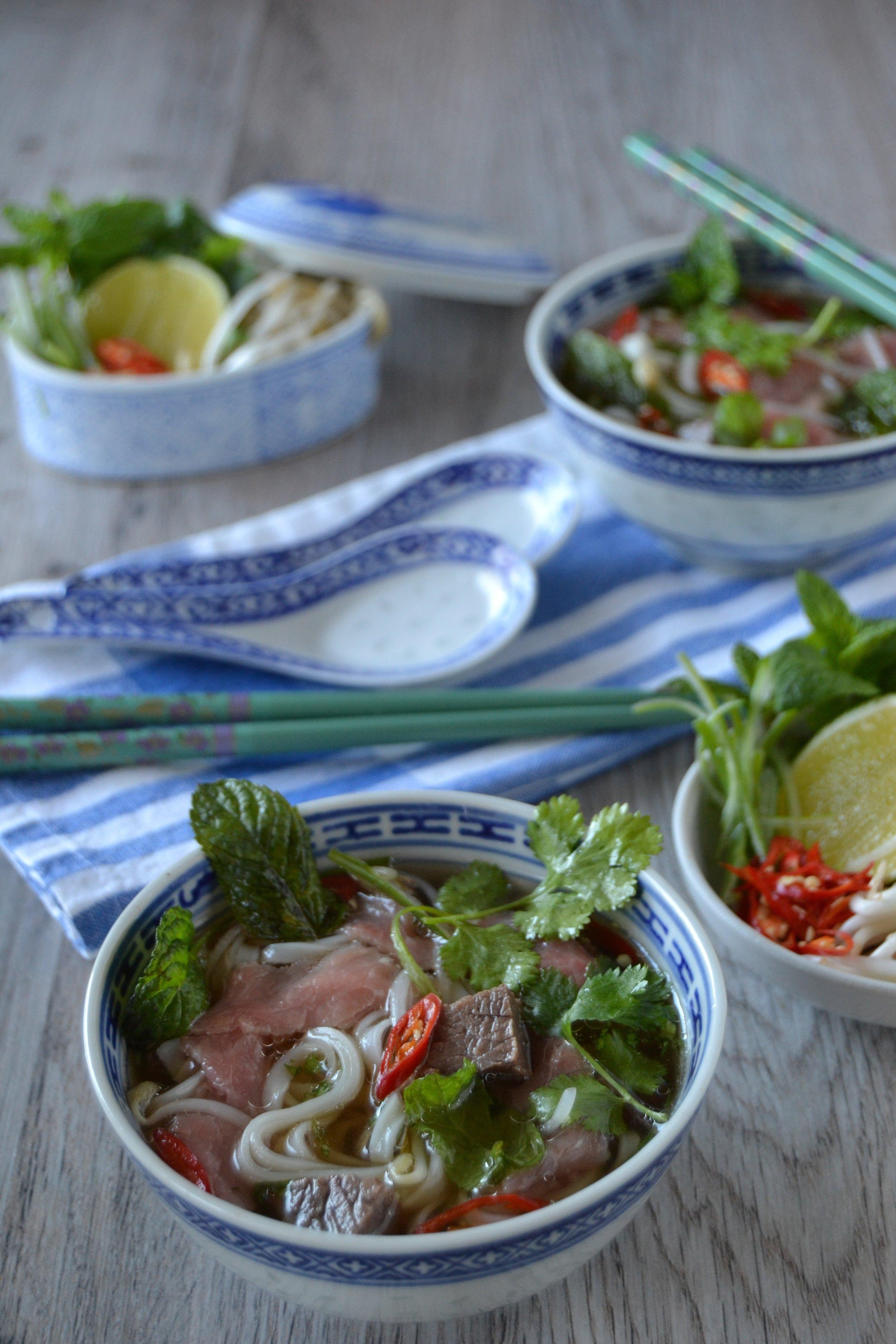 Zuppa pho bo vietnamita
