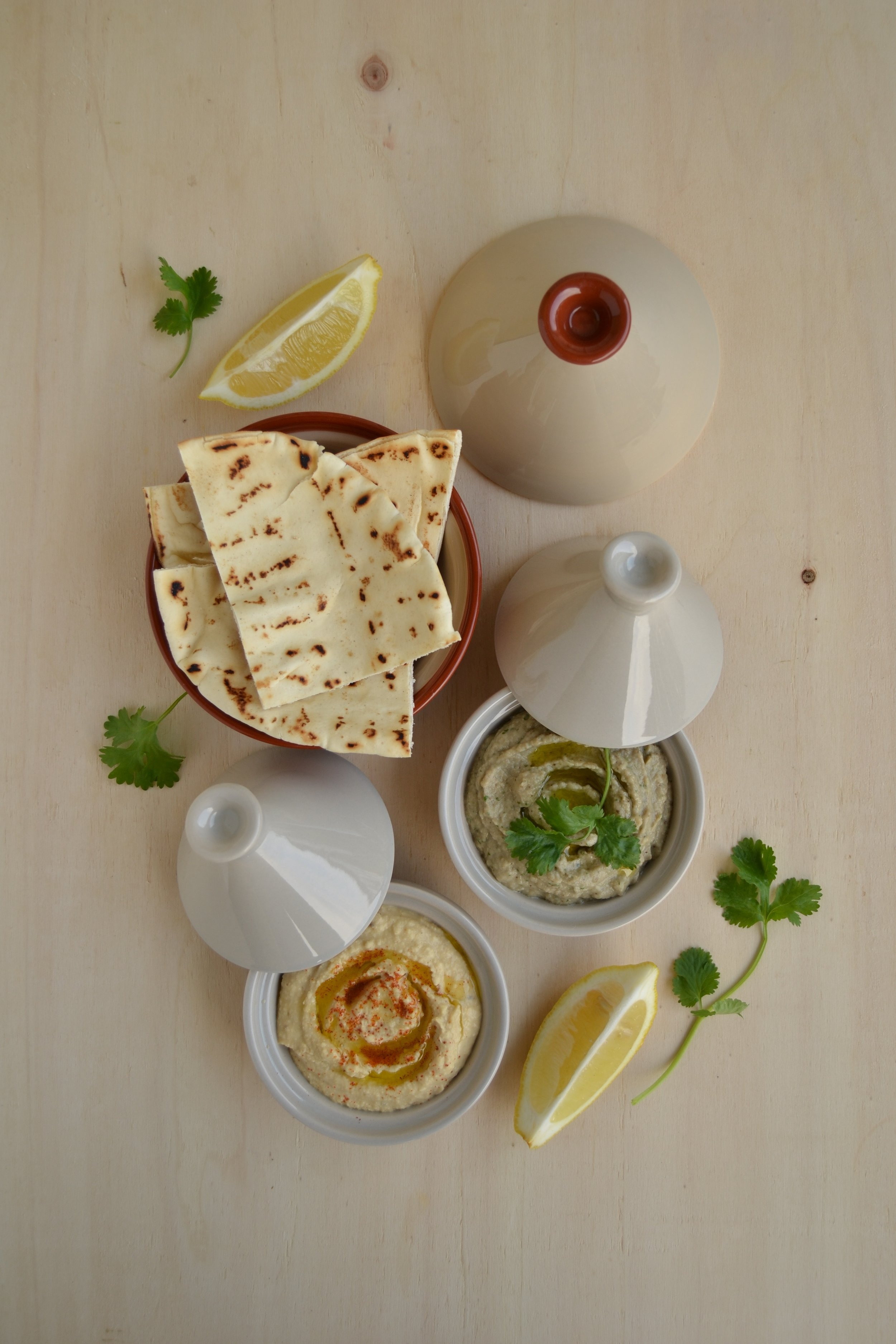 Hummus e babaganoush