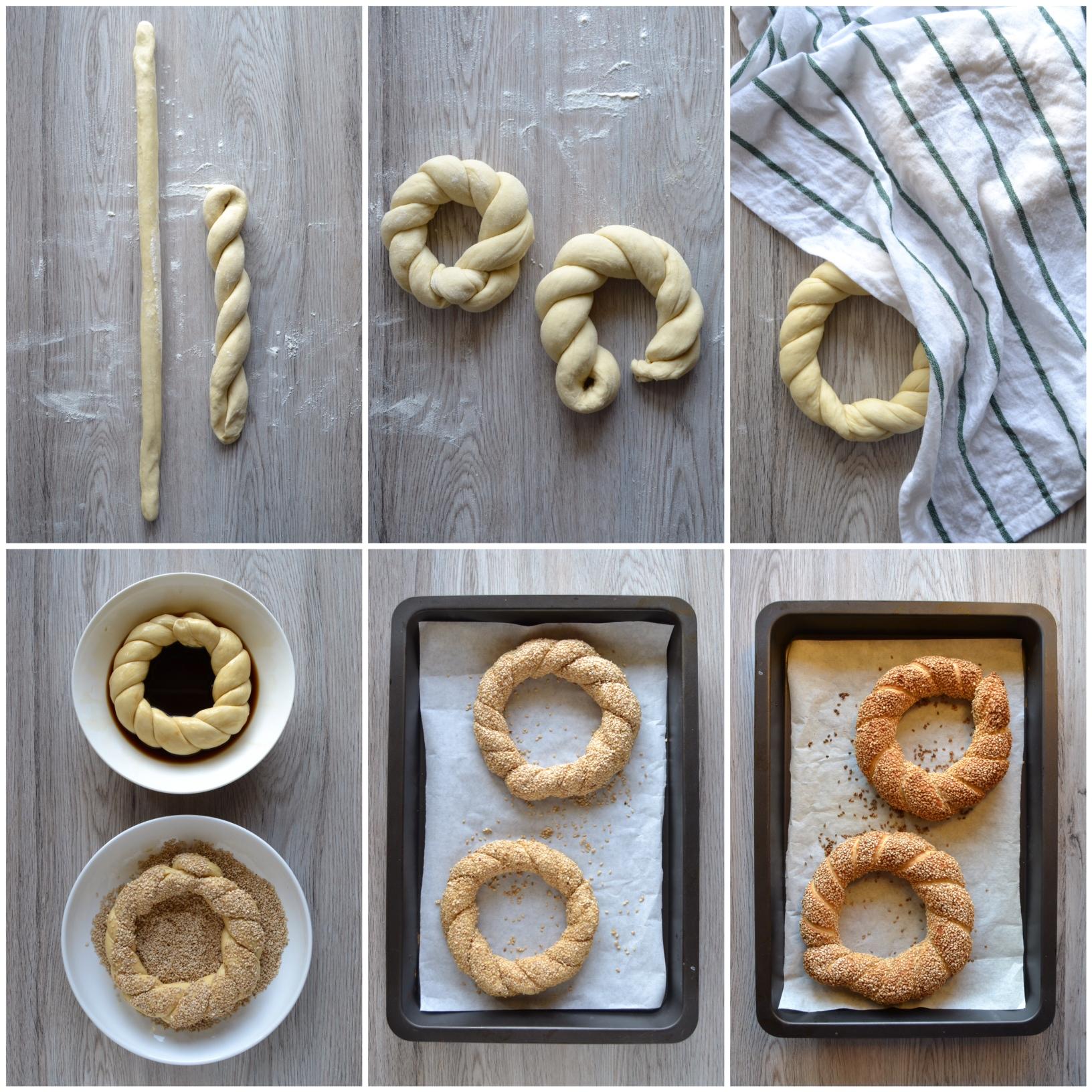 Simit: pane turco al sesamo