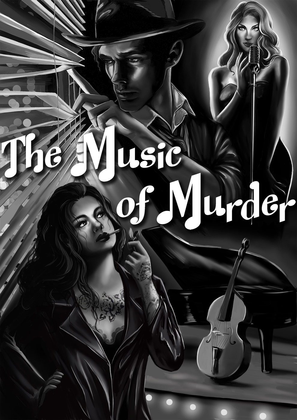 Jazz Noir: The Music of Murder - A beatnik private eye on the case of a dead friend and a doped girl, can Fearless Felix Phoenix solve this story of crime, music and murder?
