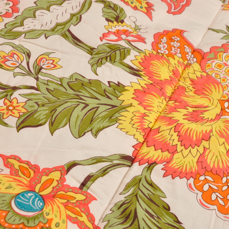 Wild Floral sleeping bag original design print