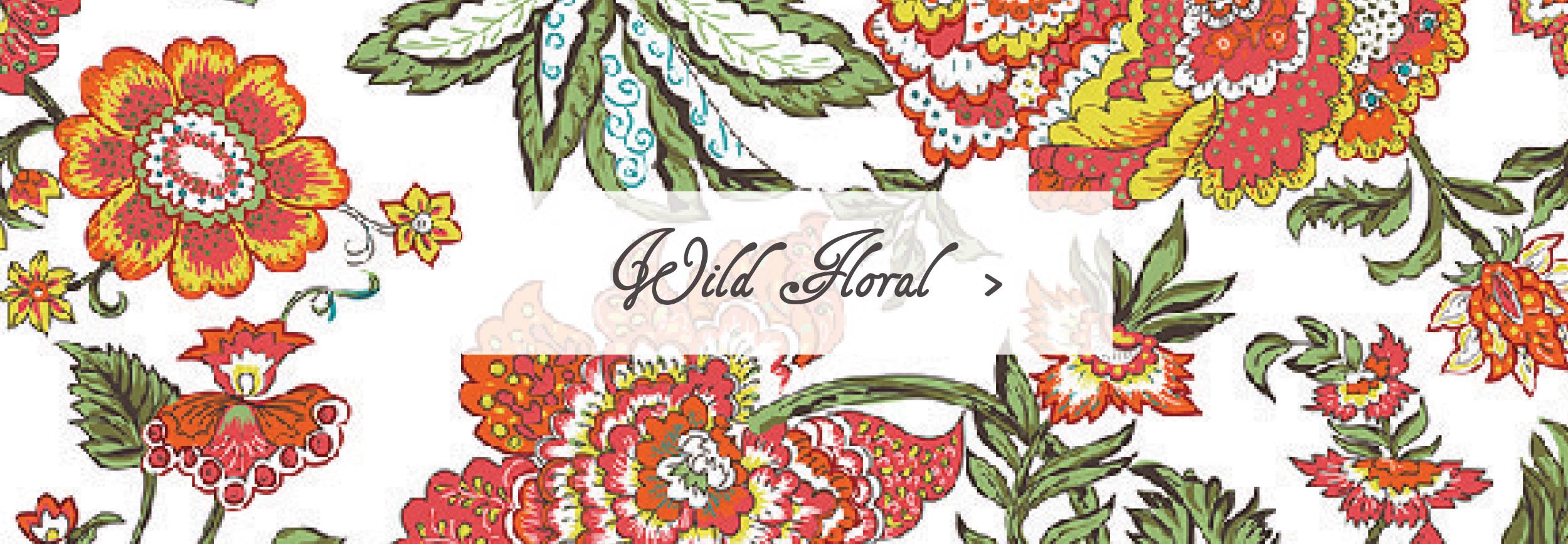 Wild Floral Sleeping Bag Beauties Pattern Print