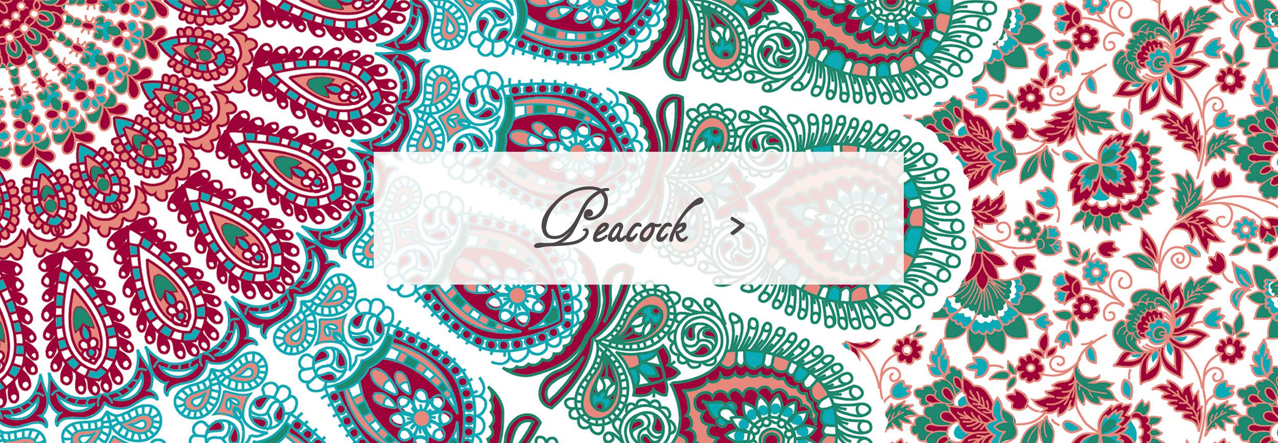 Peacock Sleeping Bag Beauties Pattern Print