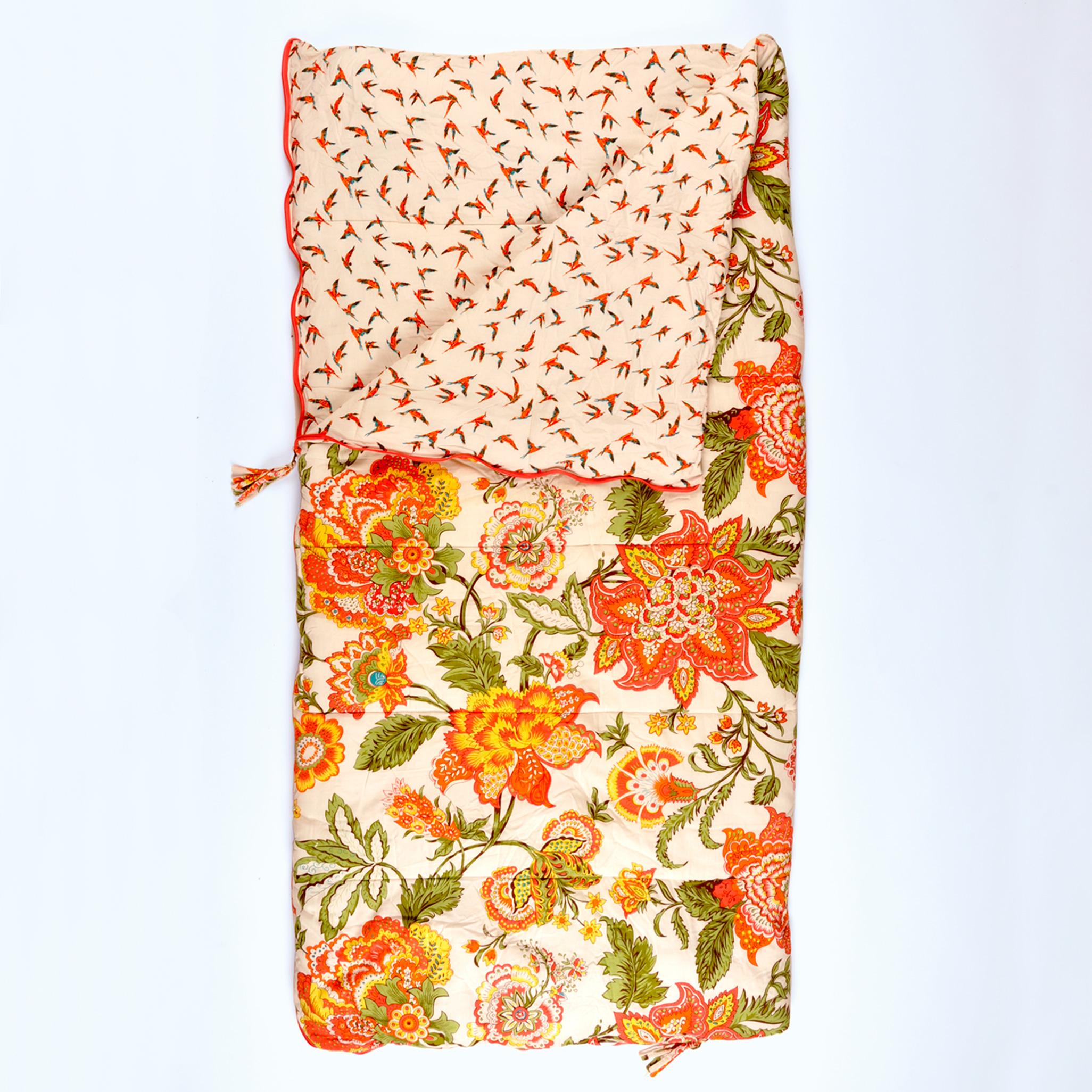 Wild Floral Single Sleeping Bag
