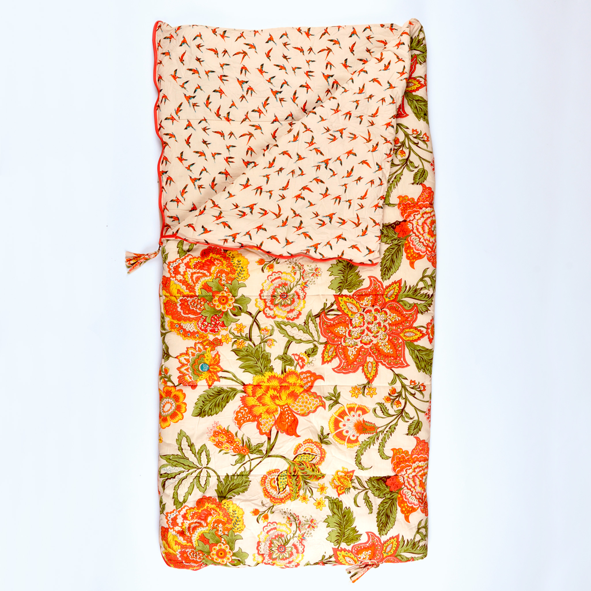 Wild Floral single Sleeping Beauties sleeping bag