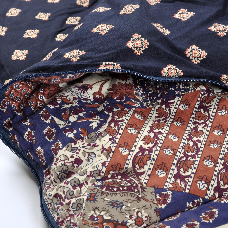 Vintage Patchwork sleeping bag original design print