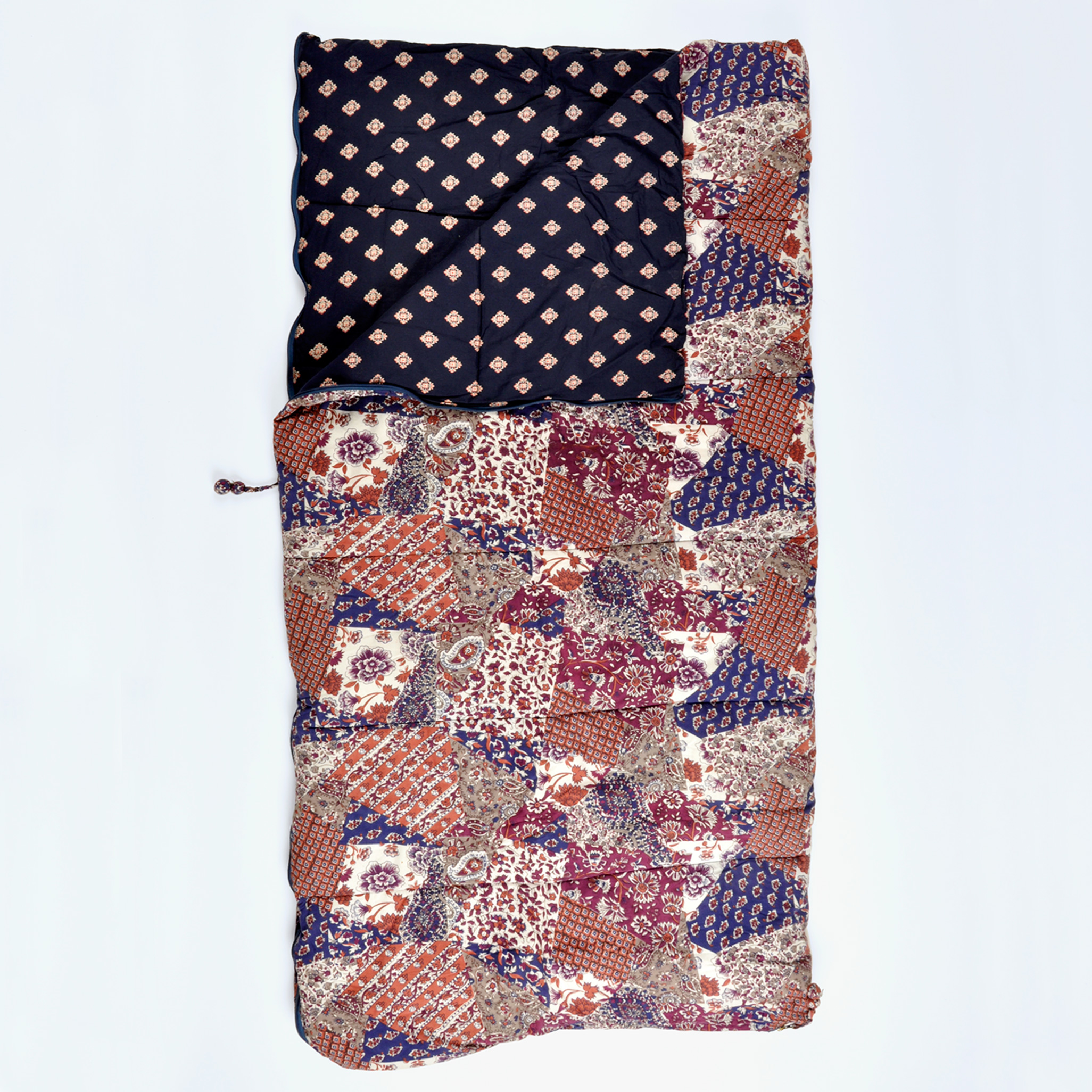 Vintage Patchwork single sleeping bag