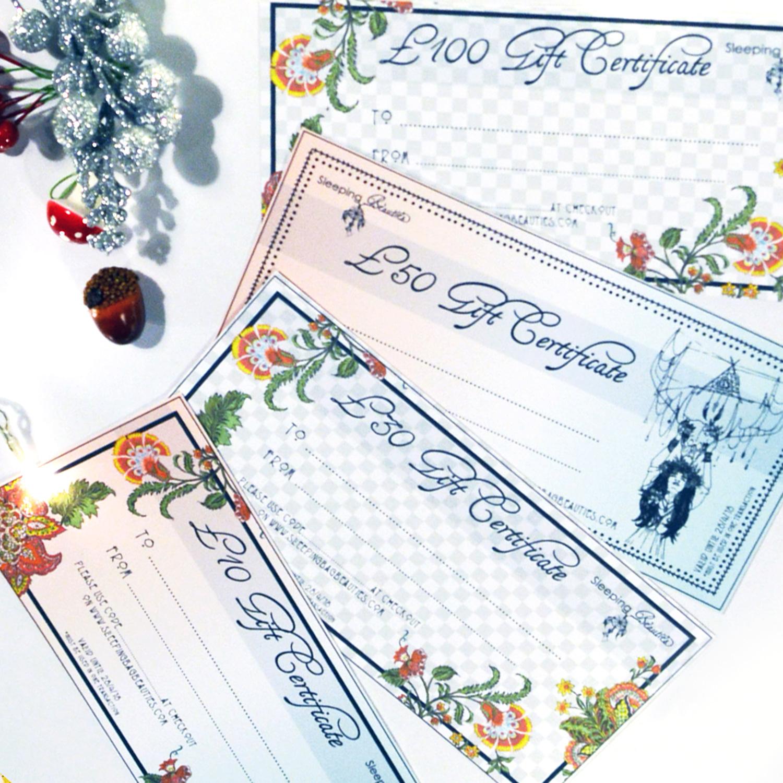 Sleeping Bag Beauties Gift Cards