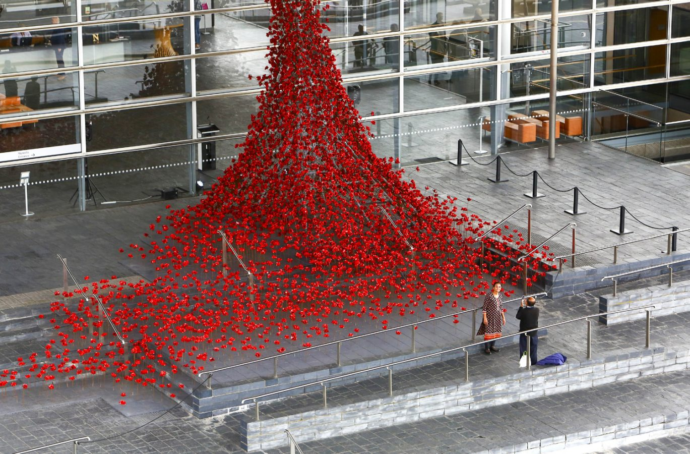 Image credit: Weeping Window at Y Senedd, the National Assembly for Wales in Cardiff Photo credit: Geoff Caddick/PA Wire