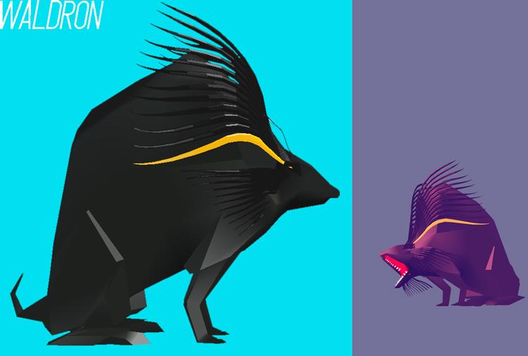 Waldron Character Design
