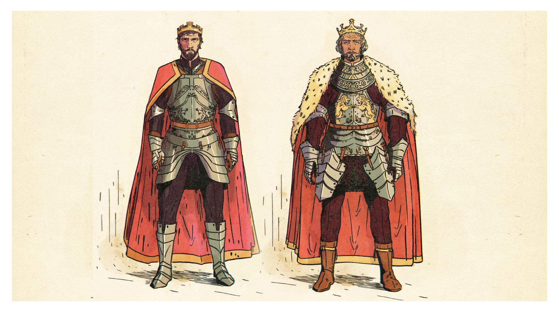 King Arthur & Uther Pendragon